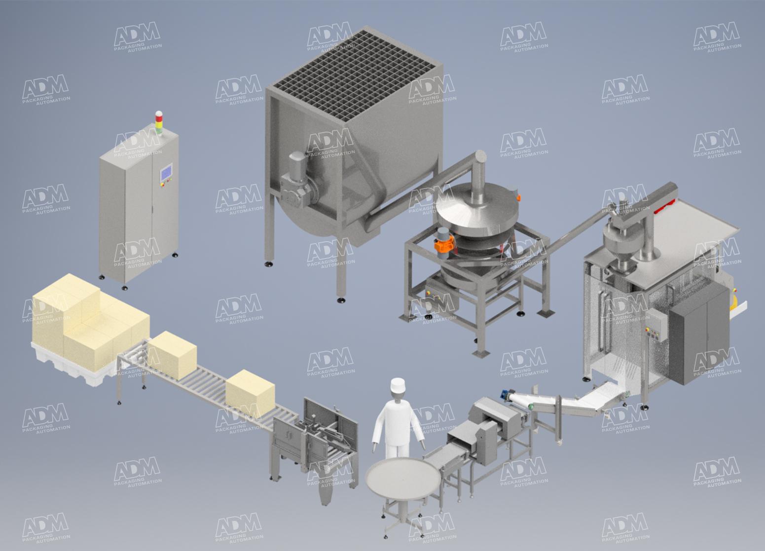 powder packaging machinery